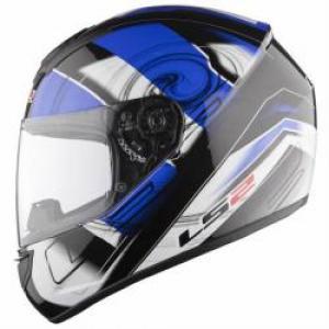 Шлем для мотоцикла FF351 K ACTION WHITE BLUE