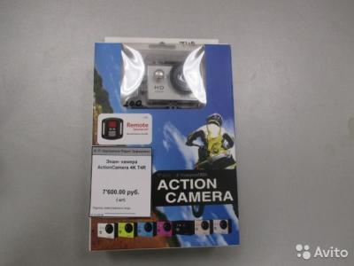 Экшн видеокамера Action Camera 4K T4R