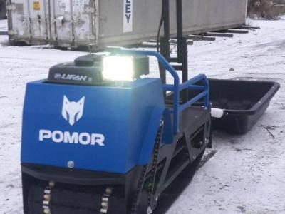 Мотобуксировщик POMOR 380 1250 9к