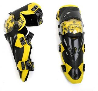 Набор наколенников К12 Scoyco жёлтые