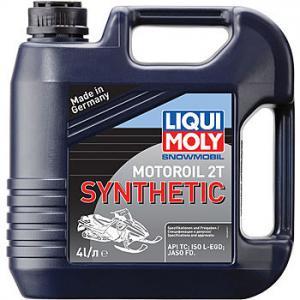 Синтетическое моторное масло для снегоходов Snowmobil Motoroil 2T Synthetic 4л