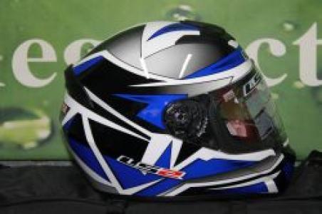 Шлем для мотоцикла FF352 K GAMMA BLACK BLUE