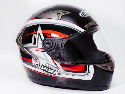 Шлем для мотоцикла G-335 STELLA (black star)