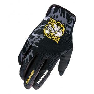 Перчатки Scoyco МХ46 (M) чёрные