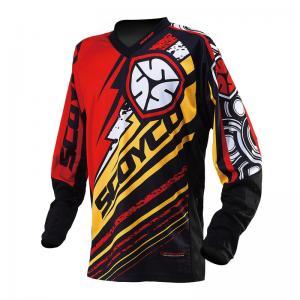Футболка для мотокросса (Джерси) Т200 Scoyco красная (XL)