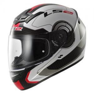 Шлем для мотоцикла FF351 K ATMOS GLOSS WHITE RED