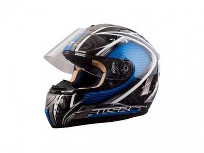 Шлем для мотоцикла FF366 CYBER GLOSS BLACK BLUE