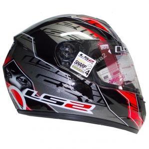 Шлем для мотоцикла FF351 EYES BLACK RED