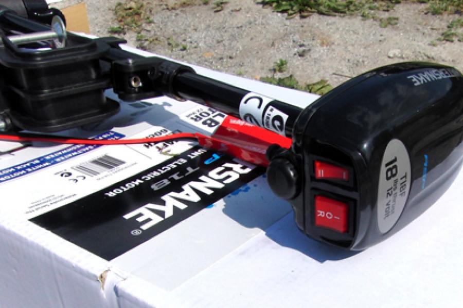электрический троллинговый мотор t18-fw