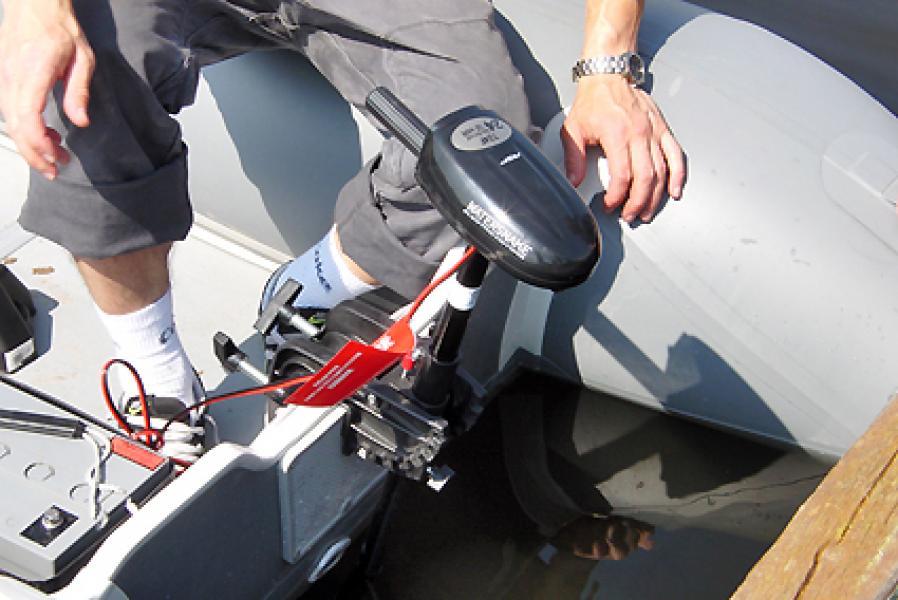 моторы от аккумулятора для лодок пвх