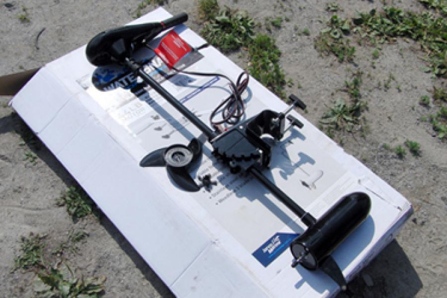 Электромотор для лодок