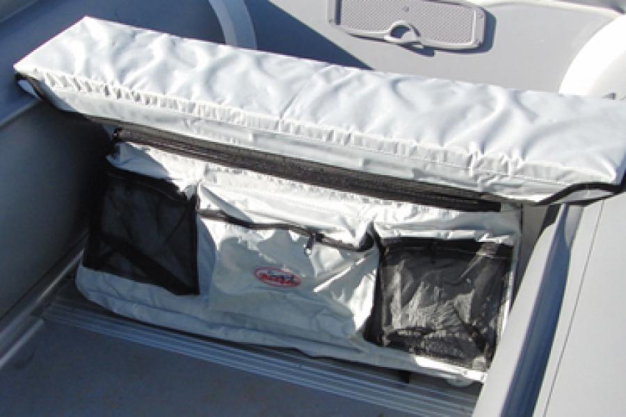 сумка под сиденье лодки пвх своими руками